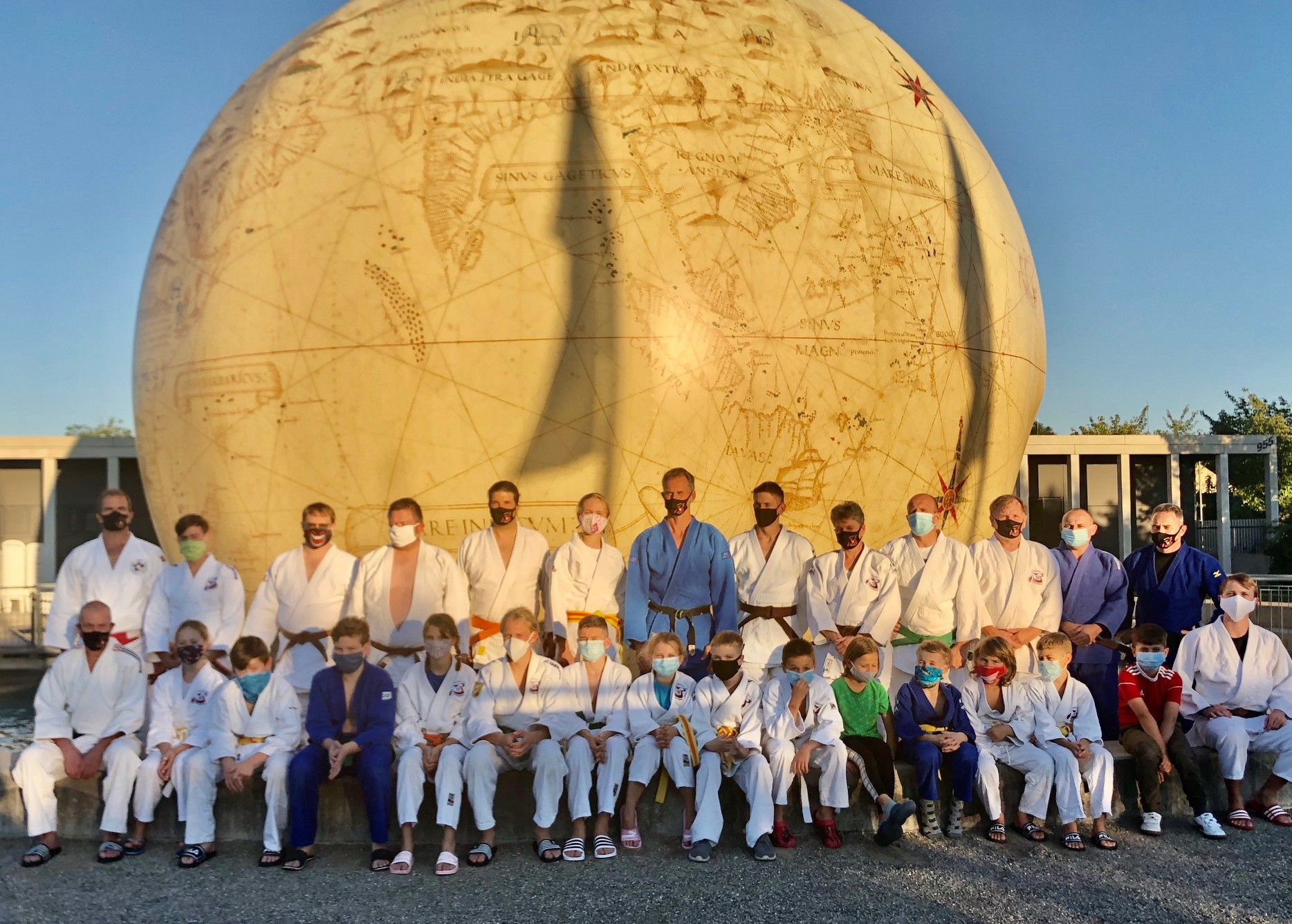 Judo Premiere in der Königstherme